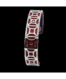 Bracelet Manchette Amarante
