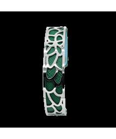 Bracelet Manchette Mauve