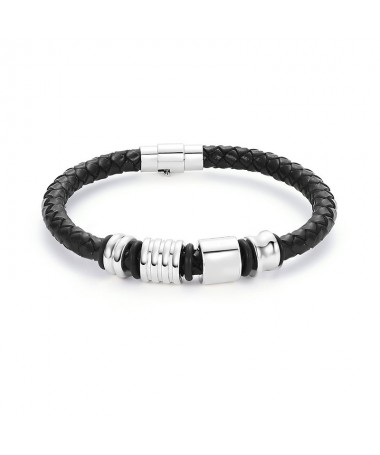 Bracelet Cuir 4 éléments