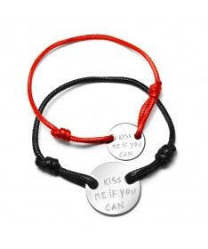 Bracelet Cordon Couple Olivia