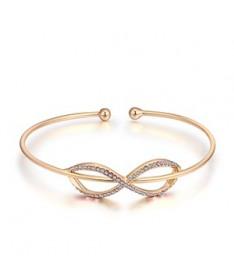Bracelet Jonc Cristal Infini Susan