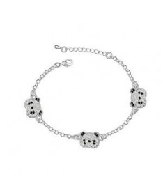 Bracelet Cristal Panda
