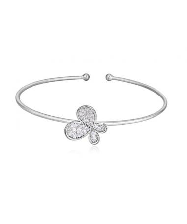 Bracelet Cristal Papillon