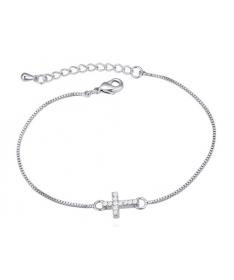 Bracelet Cristal Croix