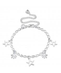Bracelet Chaine Etoile Constellation