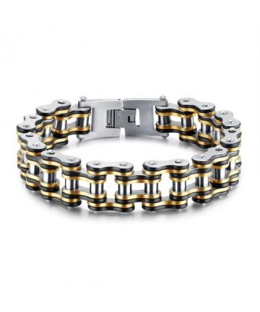 Bracelet Titane Chaine Moto