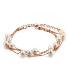 Bracelet Perle MultiChaines