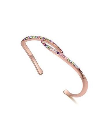 Bracelet Jonc Cristal Amour Comme Jamais