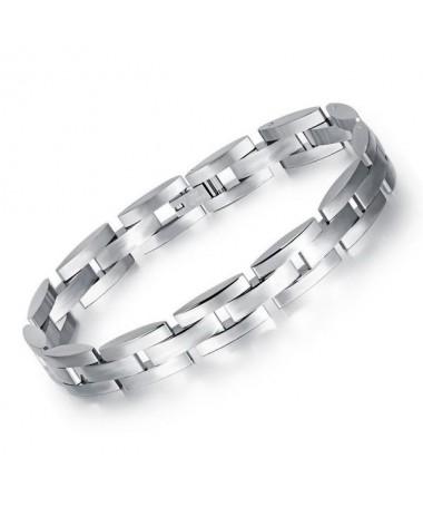 Bracelet Titane Géométrique