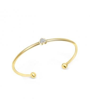 Bracelet Jonc Coeur Nicole