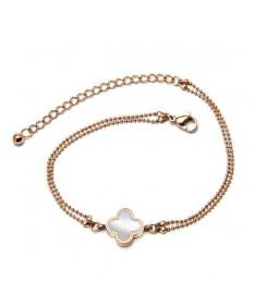 Bracelet Chaine Trefle