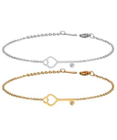 Bracelet Chaine Clé