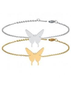Bracelet Chaine Papillon