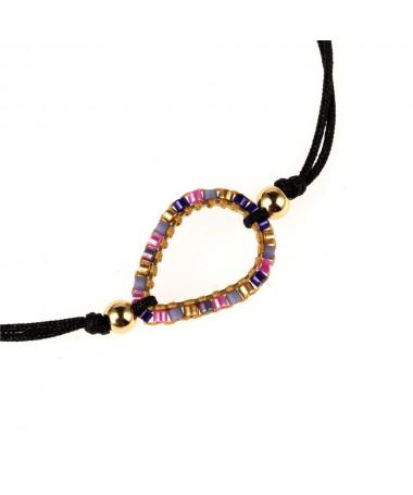 Bracelet Cristal Cordon Bolso Cesta Ballon