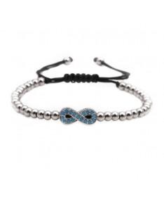 Bracelet Infini en Perles