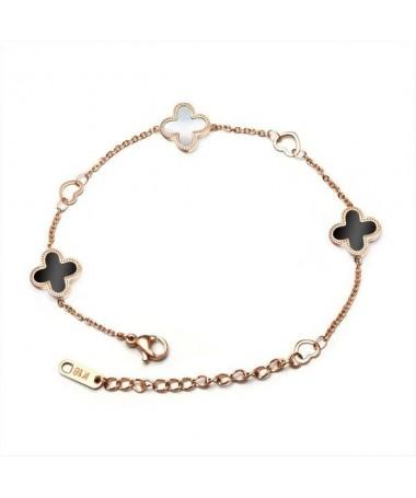 Bracelet Trefles et Coeurs