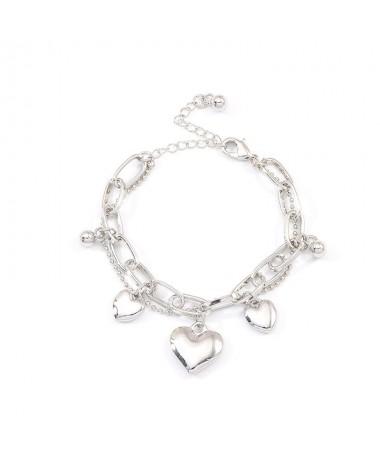 Bracelet 2 + 1 Coeurs
