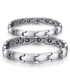 Bracelet Couple Titane Fancy