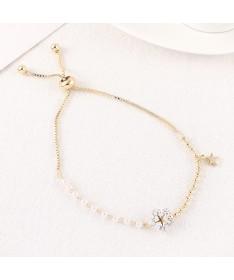 Bracelet Chaine Etoile Flocon