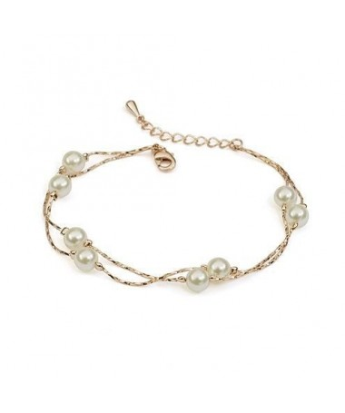Bracelet Double Perles