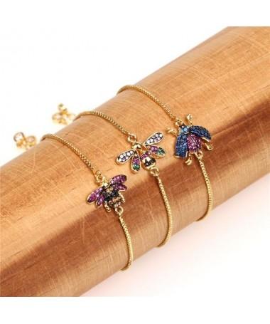 Bracelet Cristal Libellule