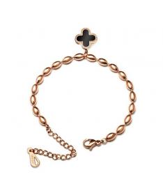 Bracelet Perle Chaine Trefle