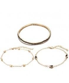 Bracelet Chaine Ensemble de 3
