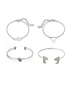 Bracelet Chaine Ensemble de 4