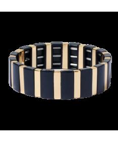 Bracelet Émail Tuiles Extensibles Vera