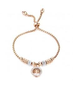 Bracelet Titane Perles Arbre de Vie