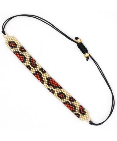 Bracelet Miyuki Leopard