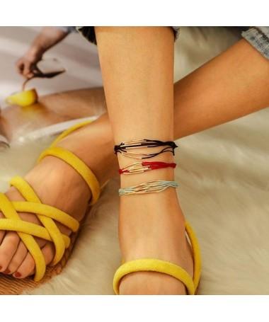 Bracelet de Cheville 3 pièces