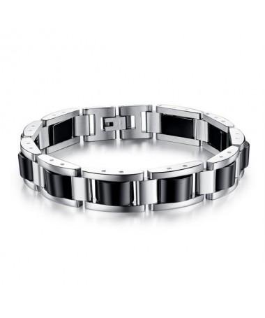 Bracelet Acier Black Magnet
