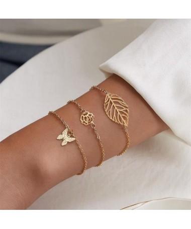 Bracelet Chaine Audra Ensemble 3 pièces