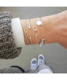 Bracelet Chaine Julia 18 variantes