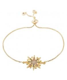 Bracelet Chaine Fleur