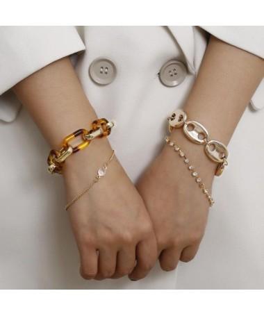 Bracelet Chaine Vicky Ensemble 4 pièces