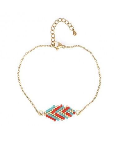 Bracelet Miyuki Feuille