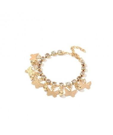 Bracelet Chaine Papillon Diamant