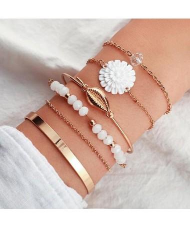 Bracelet Chaine Louisa Ensemble 6 pièces
