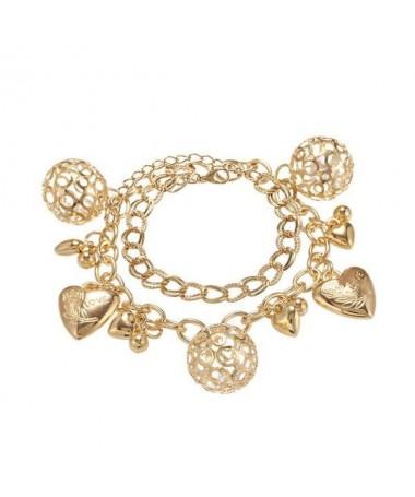 Bracelet Chaine Amour Metal