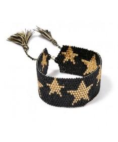 Bracelet Miyuki Coeur Doré