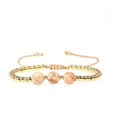 Bracelet 3 Perles Millie