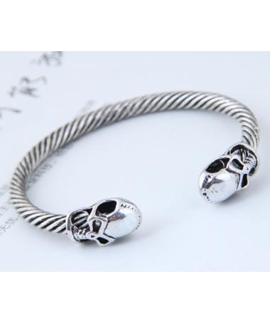 Bracelet Viking Tete de Mort Ivar
