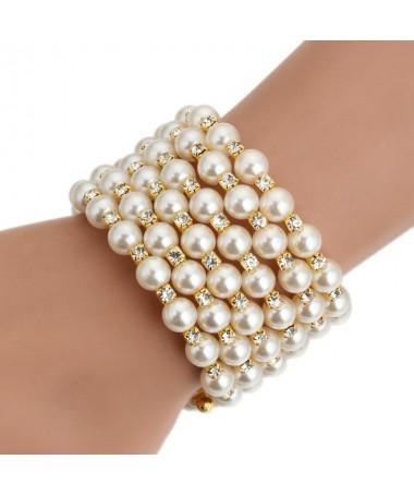 Bracelet Perles Lindy