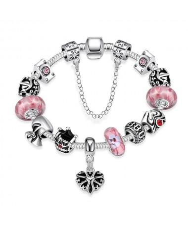 Bracelet Charm's Murano Amelia