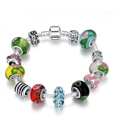 Bracelet Charm's Murano Victoria