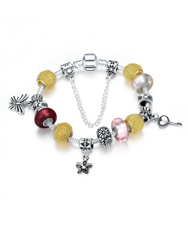 Bracelet Charm's Murano Aretha