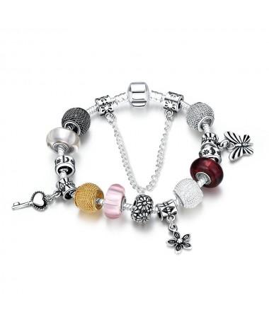 Bracelet Charm's Murano Wilma