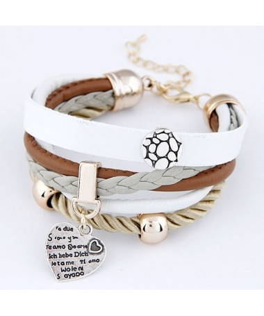 Bracelet Coeur Zaida